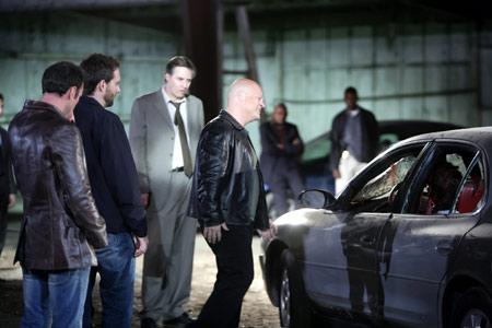 The Shield : Photo David Rees Snell, Jay Karnes, Michael Chiklis, Walton Goggins