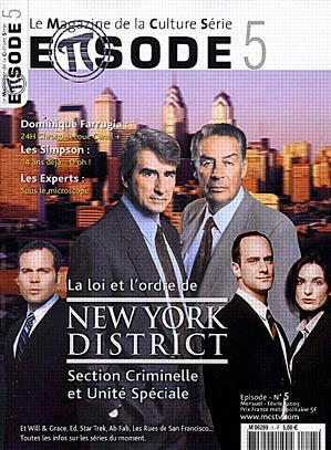 New York District / New York Police Judiciaire : Photo promotionnelle Jerry Orbach, Sam Waterston