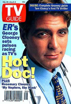 Urgences : Photo promotionnelle George Clooney