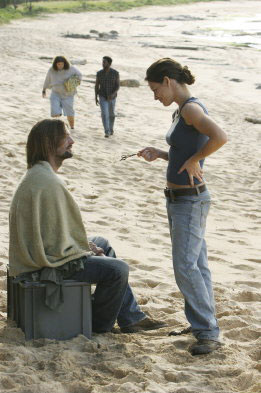 Lost, les disparus : Photo Evangeline Lilly, Josh Holloway