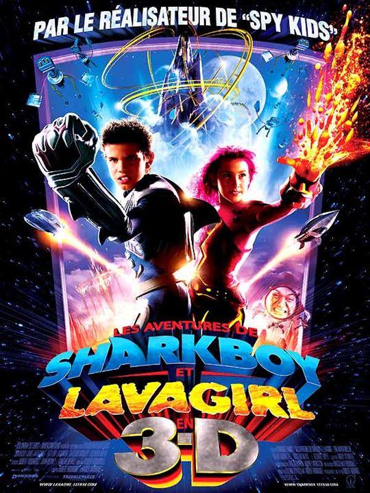 Les Aventures de Shark Boy et Lava Girl : Affiche Robert Rodriguez