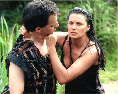 Xena, la guerrière : Photo Lucy Lawless, Ted Raimi