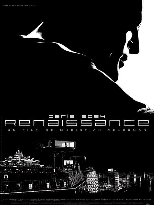 Renaissance : Affiche Christian Volckman