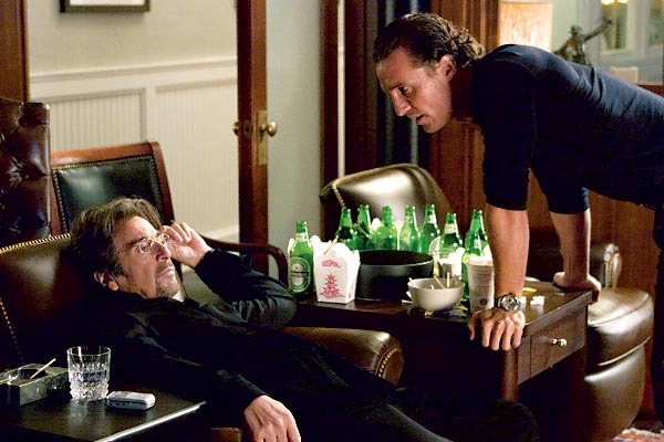 Two for the Money : Photo Al Pacino, Matthew McConaughey