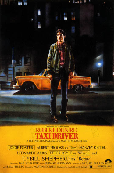 affiche du film taxi driver affiche 2 sur 2 allocin. Black Bedroom Furniture Sets. Home Design Ideas
