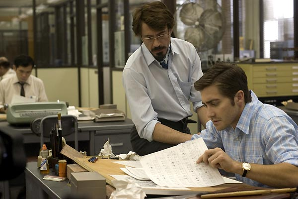 Zodiac : Photo Jake Gyllenhaal, Robert Downey Jr.