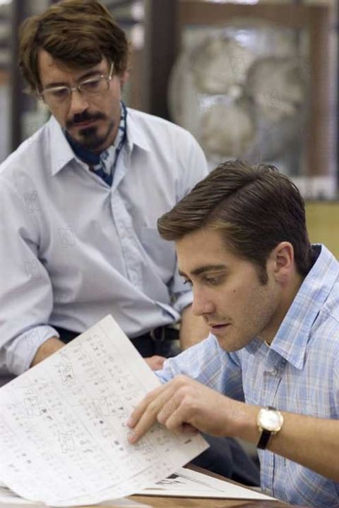 Zodiac : Photo Jake Gyllenhaal, Robert Downey Jr.
