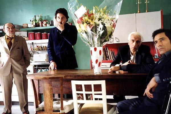 Les Parrains : Photo Frédéric Forestier, Gérard Darmon, Gérard Lanvin, Jacques Villeret, Pascal Reneric