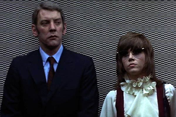 Klute : Photo Alan J. Pakula, Donald Sutherland, Jane Fonda