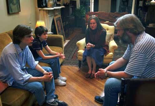 Les Berkman se séparent : Photo Jeff Daniels, Jesse Eisenberg, Laura Linney, Owen Kline