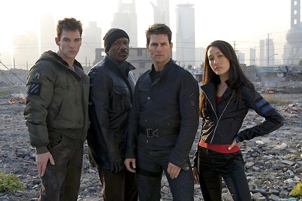 Mission: Impossible III : Photo Jonathan Rhys-Meyers, Maggie Q, Tom Cruise, Ving Rhames