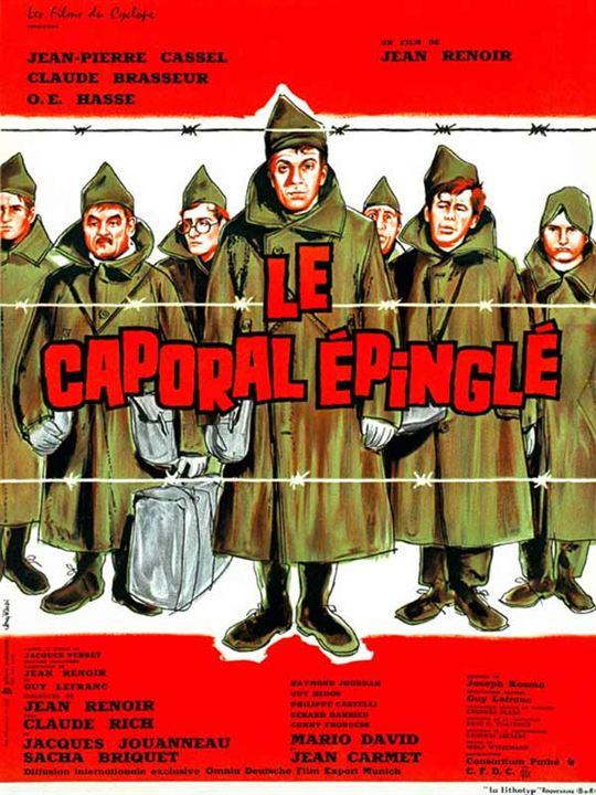 Le Caporal Épinglé : Affiche