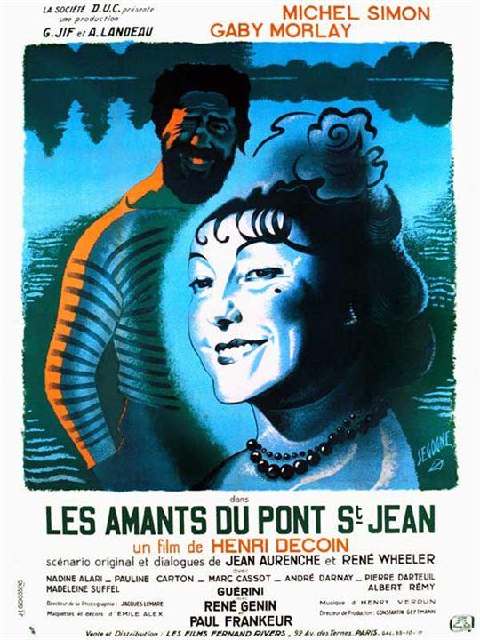 Les Amants du pont Saint-Jean : Affiche Henri Decoin