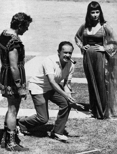 Cléopâtre : Photo Elizabeth Taylor, Joseph L. Mankiewicz, Richard Burton