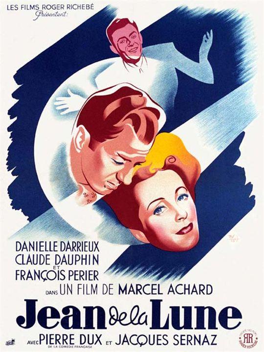 Jean de la Lune : affiche Marcel Achard