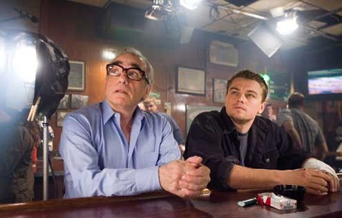Les Infiltrés : Photo Leonardo DiCaprio, Martin Scorsese