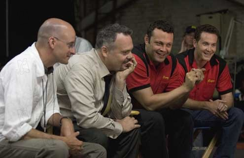 La Rupture : Photo Cole Hauser, Peyton Reed, Vince Vaughn, Vincent D'Onofrio