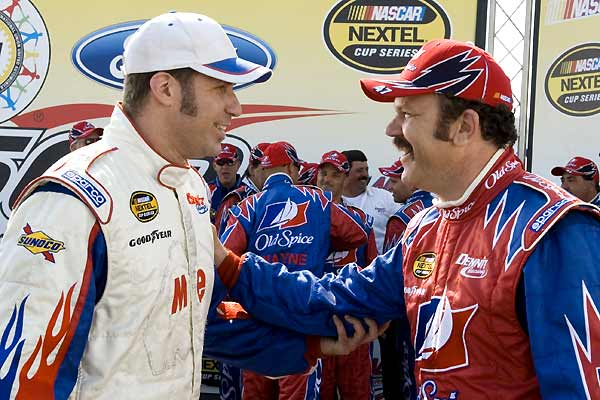 Ricky Bobby : roi du circuit : Photo John C. Reilly, Will Ferrell