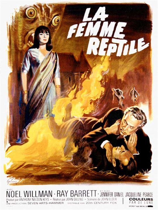 La Femme reptile : Affiche