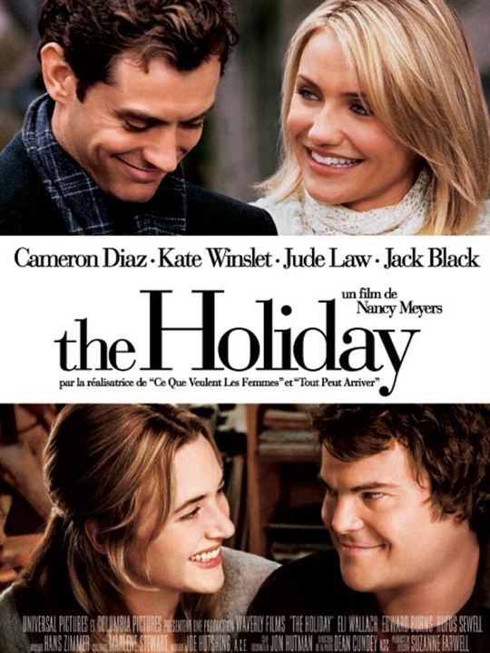 The Holiday : Affiche