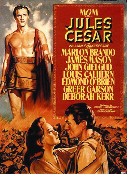 Jules César : Affiche James Mason, Joseph L. Mankiewicz, Louis Calhern