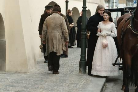 Les Misérables : Photo Gérard Depardieu, Virginie Ledoyen
