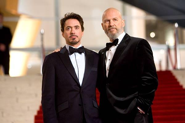Iron Man : Photo Jeff Bridges, Robert Downey Jr.