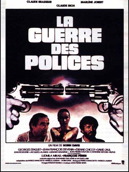 La guerre des polices : Affiche