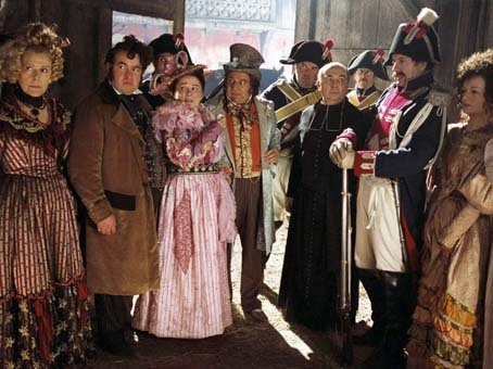 L'auberge rouge : Photo Christian Clavier, Gérard Jugnot, Josiane Balasko, Sylvie Joly, Urbain Cancelier