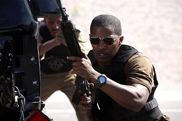 Le Royaume : Photo Jamie Foxx, Peter Berg