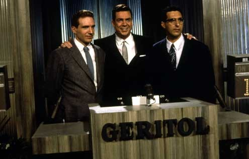 Quiz Show : Photo Christopher McDonald, John Turturro, Ralph Fiennes