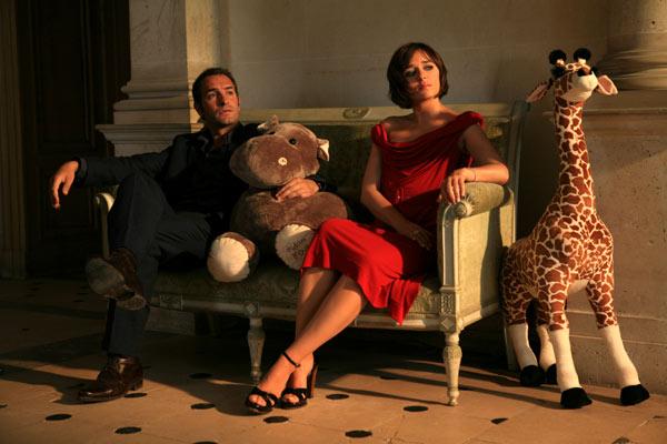 Ca$h : Photo Eric Besnard, Jean Dujardin, Valeria Golino