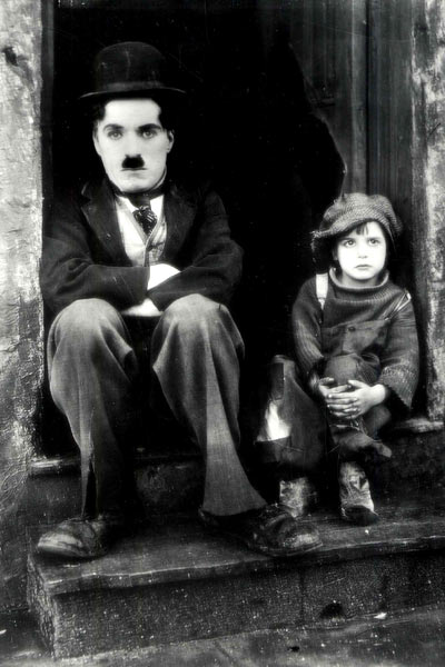 Le Kid : Photo Charles Chaplin