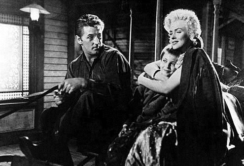 Rivière sans retour : Photo Marilyn Monroe, Otto Preminger, Robert Mitchum, Tommy Rettig