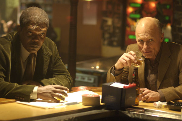 Cleaner : Photo Ed Harris, Renny Harlin, Samuel L. Jackson