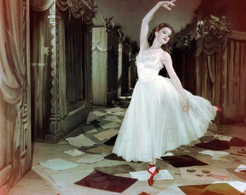 Les Chaussons rouges : Photo Michael Powell, Moira Shearer