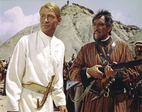 Lawrence d'Arabie : Photo Anthony Quinn, Peter O'Toole