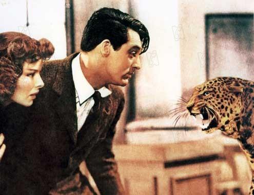 L'Impossible Monsieur Bébé : Photo Cary Grant, Howard Hawks, Katharine Hepburn