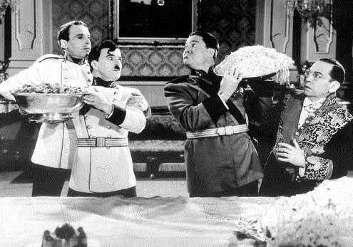 Le Dictateur : Photo Charles Chaplin, Jack Oakie