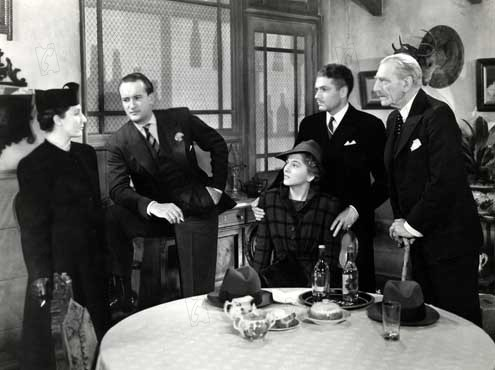 Rebecca : Photo C. Aubrey Smith, Dame Judith Anderson, George Sanders, Joan Fontaine, Laurence Olivier