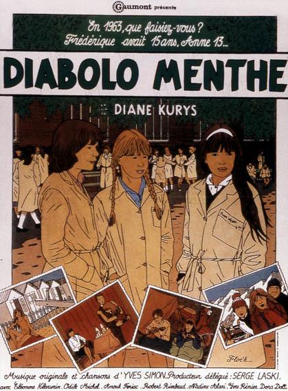 Diabolo menthe affiche