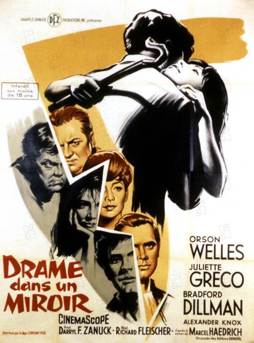 Affiche du film drame dans un miroir affiche 1 sur 1 for Ecrire comme dans un miroir