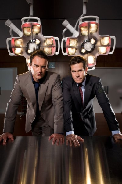 Nip/Tuck : Photo Dylan Walsh, Julian McMahon