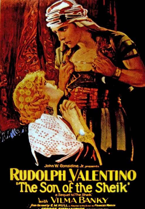 Le Fils du cheik : Photo George Fitzmaurice, Rudolph Valentino, Vilma Banky