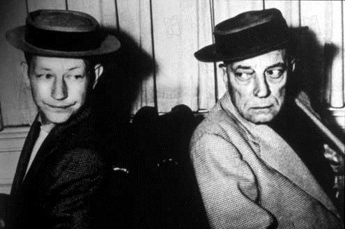 L'Homme qui n'a jamais ri : Photo Buster Keaton, Donald O'Connor, Sidney Sheldon
