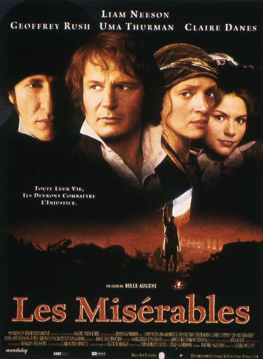 Les Misérables : Affiche Bille August