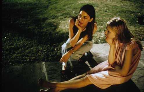Virgin suicides : Photo Kirsten Dunst, Sofia Coppola