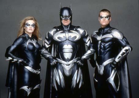 Batman & Robin : Photo Alicia Silverstone, Chris O'Donnell, George Clooney