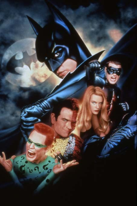 Batman Forever : Photo Chris O'Donnell, Jim Carrey, Nicole Kidman, Tommy Lee Jones, Val Kilmer