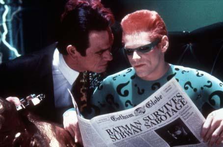 Batman Forever : Photo Jim Carrey, Tommy Lee Jones
